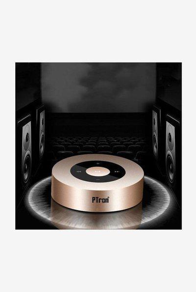 Ptron Sonor 3W Bluetooth Speaker (Gold)