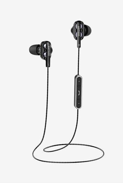 Ant Audio Doble H2 Bluetooth Headset With Mic (Black)