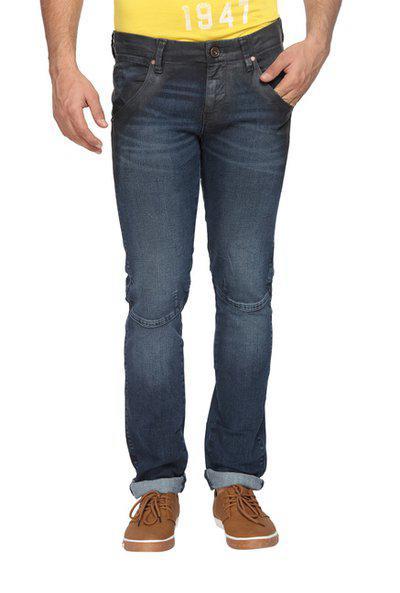 Wrangler Men Low rise Slim fit Jeans - Blue