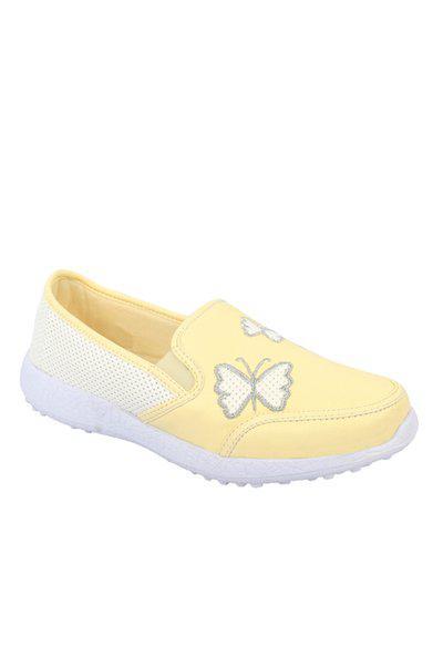 KazarMax Boys & Girls (Unisex) Lemon Butterfly Latest Collection, Comfortable & Fashionable Sneaker Shoes (Size : 27) [KE002]