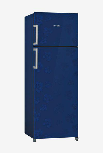 Bosch KDN30VU30I 288L 3 Star Frost Free Double Door Refrigerator (Midnight Blue)