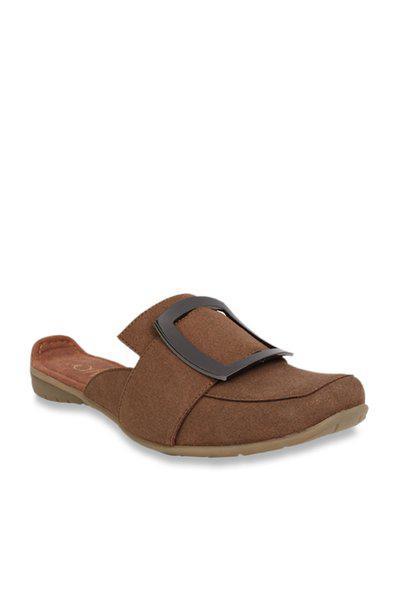 Catwalk Brown Mule Shoes