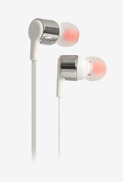 JBL TUNE 210 Wired Earphones with Mic (GreyWhite)