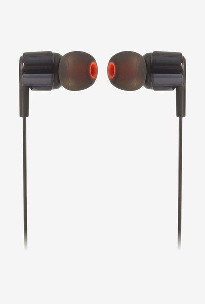 JBL TUNE 210 Wired Earphones with Mic (Black)