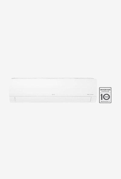 LG 1.5 Ton Inverter 5 Star Copper (2019 Range) KS-Q18HNZD Split AC (White)