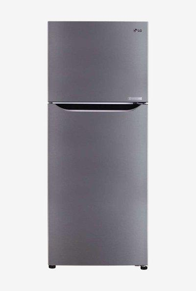 LG 260L Inverter 2 Star 2020 Frost Free Double Door Refrigerator Shiny Steel GLC292SPZY
