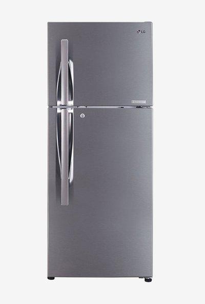 LG 260L Inverter 2 Star 2020 Frost Free Double Door Refrigerator (Shiny Steel, GL-C292RPZY)