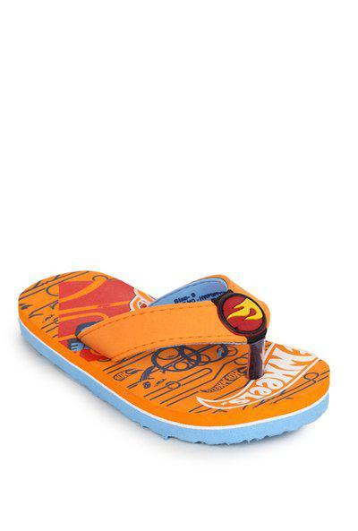 Hot Wheels Kids Orange Flip Flops