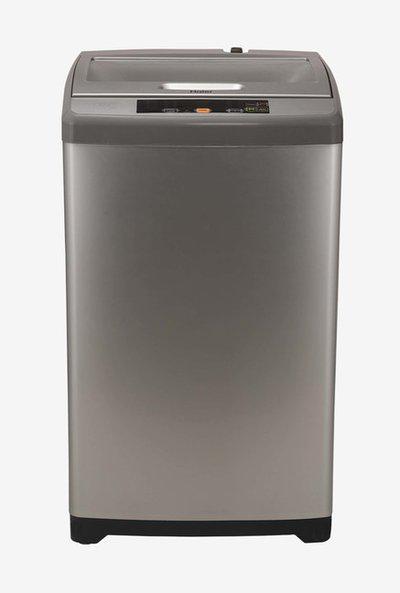 Haier HWM60-707NZP 6 kg Fully Automatic Top Loading Washing Machine (Silver Grey)