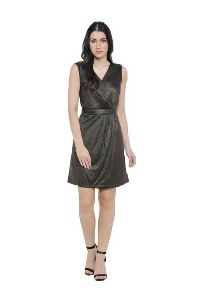 Annabelle by Pantaloons Black Slim Fit Dress