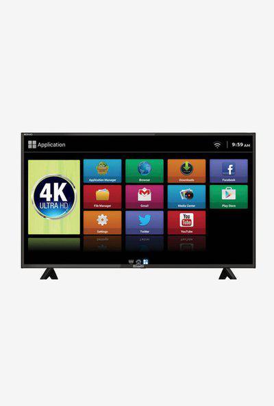 Mitashi 125.73 cm (49.5 Inches) Android Smart Ultra HD 4K DLED TV MiDE050v25 (Black)