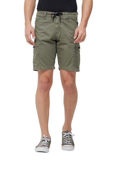 Killer Men Green Solid Slim Fit Chino Shorts