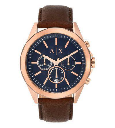 Armani Exchange Drexler AX2626 Blue Dial Watch for Men