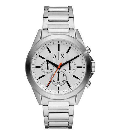 Armani Exchange Drexler AX2624 White Dial Watch for Men