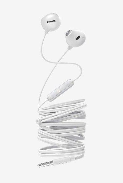 Philips Upbeat SHE2305WT00 Wired Earphones with Mic (White)