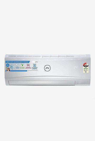 Godrej 1.0 Ton Inverter 3 Star Copper (2019 Range) GIC 12 RTC3 WRA Split AC (White)