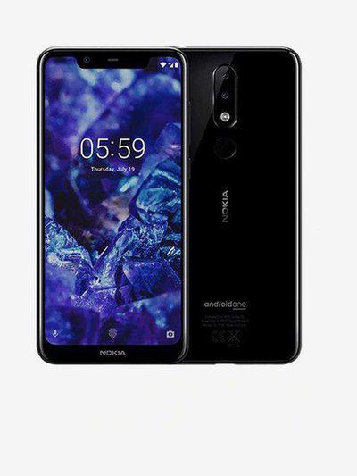 Nokia 5.1 Plus 64 GB (Black) 4 GB RAM, Dual SIM 4G