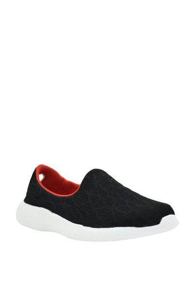 KazarMax Girls Slip on Sneakers(Black)