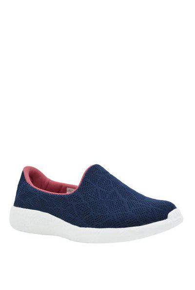 KazarMax Girls Slip on Sneakers(Dark Blue)