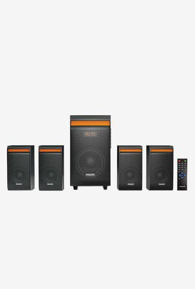 Philips SPA8140B94 40W 4.1 Channel Home Theater (Black)