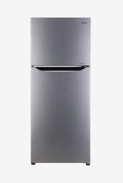 LG 260L Inverter 3 Star Frost Free Double Door Refrigerator (Dazzle Steel, GL-N292DDSY)