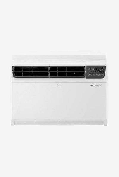 LG 1.5 Ton Inverter 3 Star Copper JW-Q18WUXA Window AC (White)