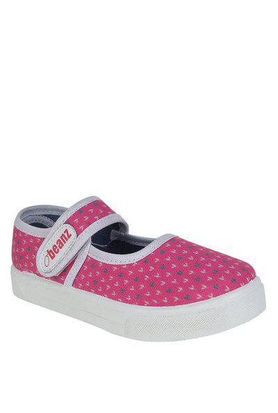 Beanz Pink Smart Casual Shoes for Girls