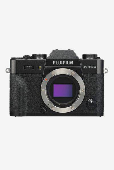 Fujifilm X-T30 (Body Only) Mirrorless Digital Camera (Black)