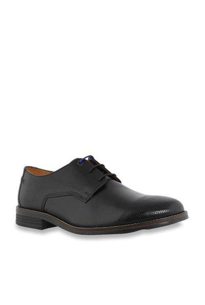 Hush Puppies Leather Formal Shoes For Men Black