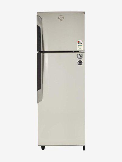 Godrej 330 L 2 Star Frost Free Double Door Refrigerator (Sleek Steel, RF GF 3302 PTH)