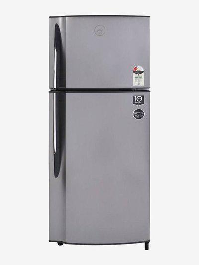 Godrej 236 L 2 Star Frost Free Double Door Refrigerator (Sleek Steel, RF GF 2362 PTH)