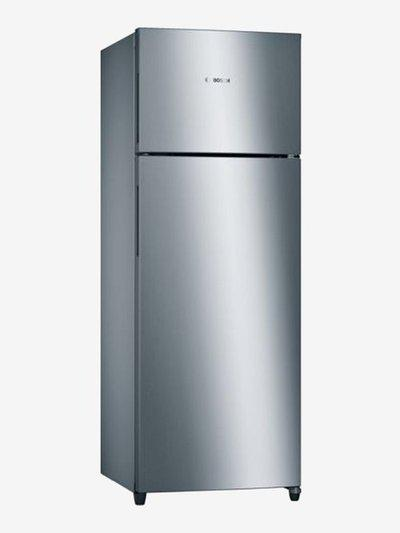 Bosch 288 L Inverter 3 Star Frost Free Double Door Refrigerator (Stainless Steel, KDN30VL30I)