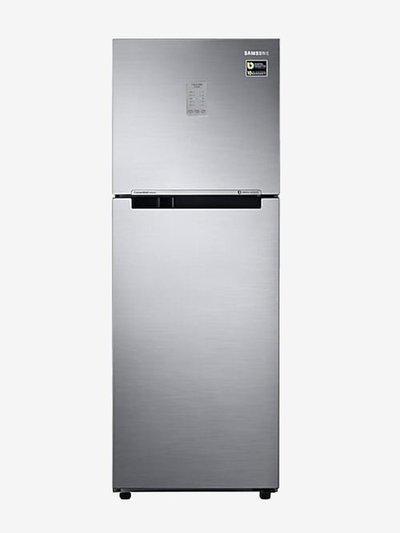 Samsung 253 L Inverter 3 Star (2019) Frost Free Double Door Refrigerator (Elegant Inox, RT28R3723S8)