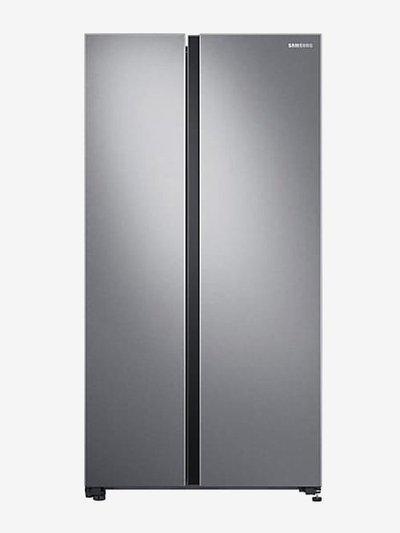 Samsung 700 L Inverter Frost Free Side by Side Refrigerator (Ez Clean Steel, RS72R5011SL/TL)