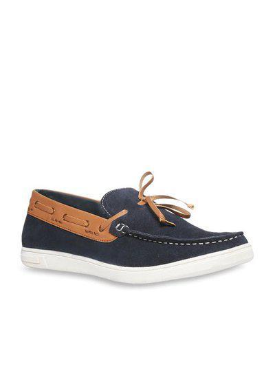 Bata Men Blue Loafer