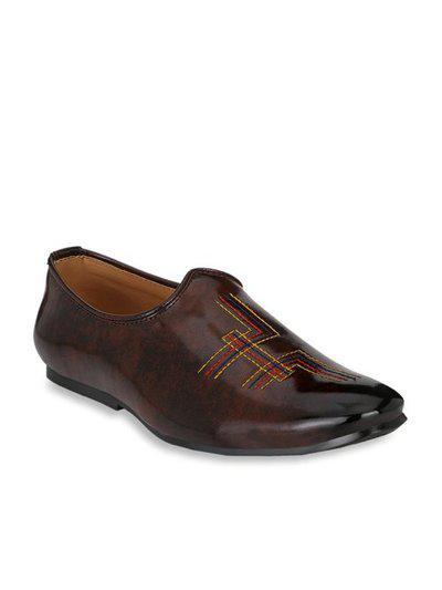 Prolific Men's Brown Formal Lace Up Shoe (9, Brown)