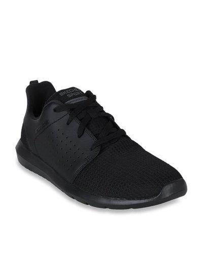 Skechers Foreflex Black Running Shoes