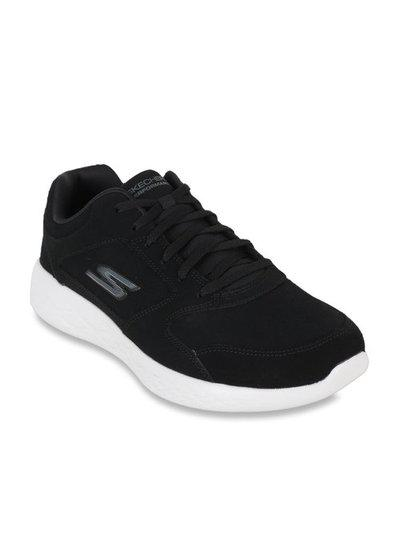 Skechers Go Run 600 Jet Black Running Shoes