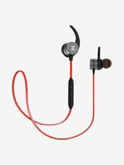 Boult Audio ProBass Crest Wireless Bluetooth In the Ear Headset with Mic (Red)