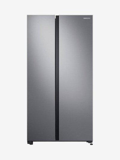 Samsung 700 L Inverter Frost Free Side By Side Refrigerator (Gentle Silver Matt, RS72R5001M9/TL)