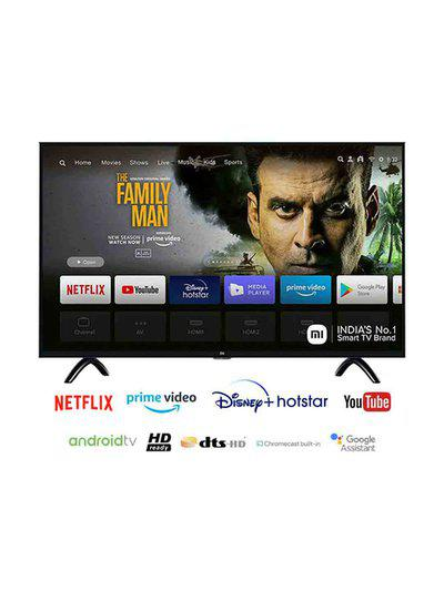 Mi 80 cm (32 Inches) Android Smart HD Ready LED TV 4A PRO (Black, 2019 Range)