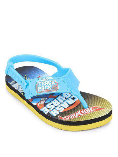 Hot Wheels Kids Sky Blue Flip Flop