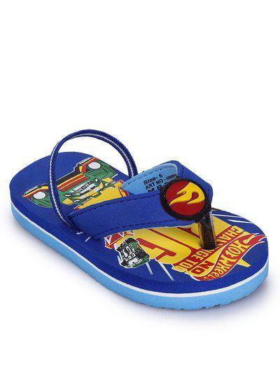 Hot Wheels Kids Royal Blue Flip Flop