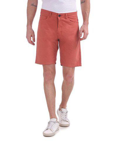 Cherokee Men Red Slim Fit Regular Shorts