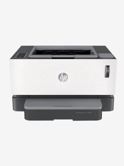 HP Neverstop 1000w 4RY23A Single Function Wireless Laser Printer (Black/White)