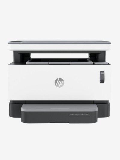 HP Neverstop 1200w 4RY26A Multi Function Wireless Laser Printer (Black/White)