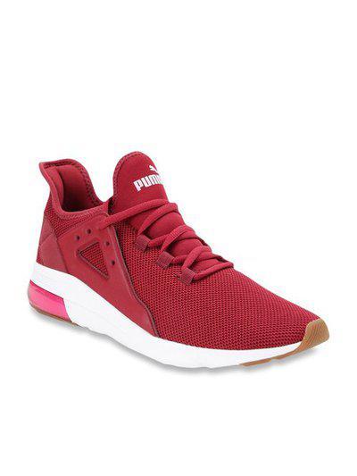 Puma Electron Street Maroon Training Shoes