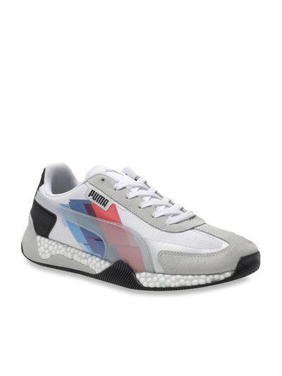 Puma BMW MMS Speed Hybrid White & Glacier Grey Sneakers