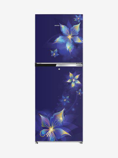 Voltas Beko 231 L Inverter 3 Star Frost Free Double Door Refrigerator (Emeria Blue,RFF2553EBCF )