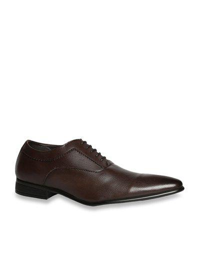 Bata Twain Dark Brown Oxford Shoes